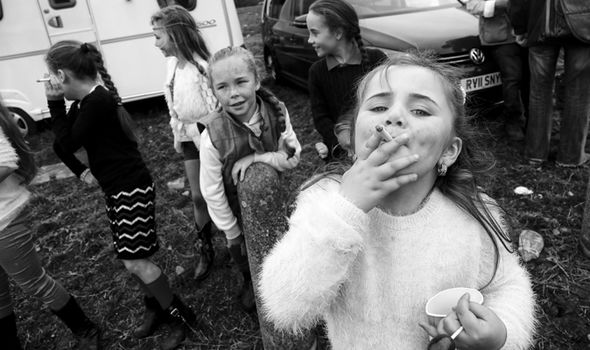 Irish travellers photos family