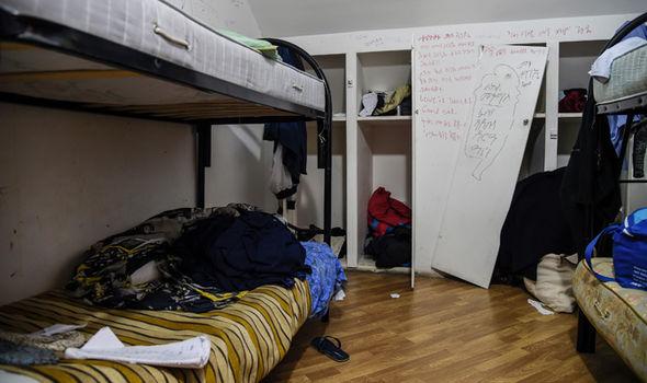 Italy migrant boy