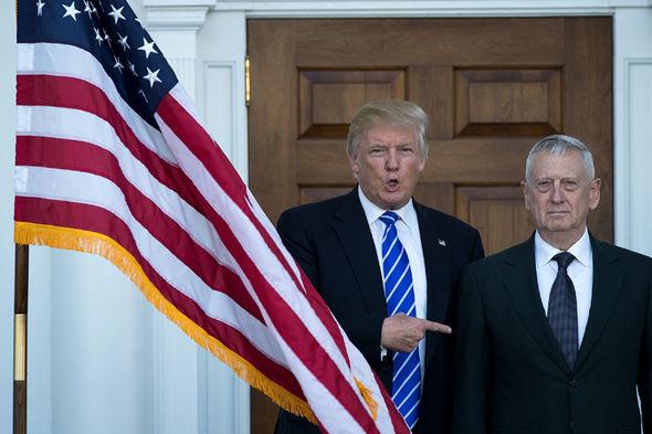Donald Trump and Mad Dog Mattis