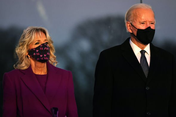 Joe Biden: The President-elect and his wife, Jill, today enter the White House