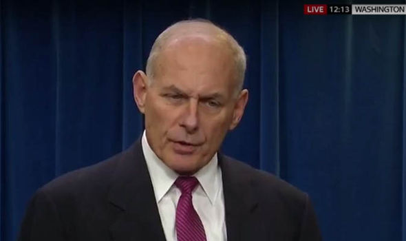 John kelly of homeland security