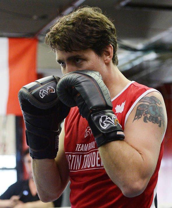 Justin Trudeau Tattoo : justin, trudeau, tattoo, Justin, Trudeau, Tattoo:, Tattoo?, Haida, Raven, Mean?, World, Express.co.uk