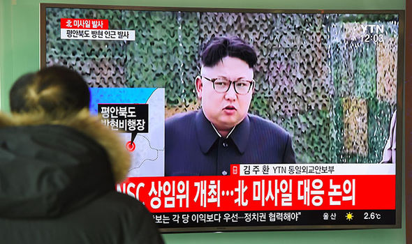 Kim Jong un on TV