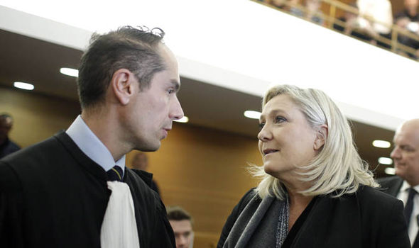 Marine Le Pen and David Dassa-Le Deist