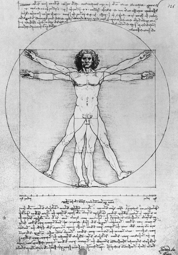 Well known work by Leonardo Da Vinci