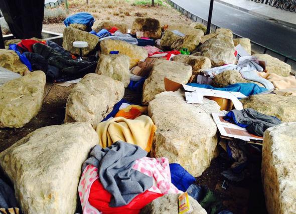 Limehouse boulders in Paris