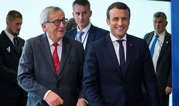 Juncker and Macron