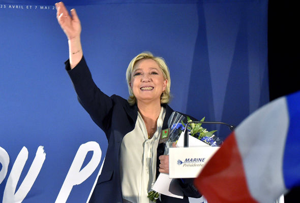 Scientist Serge Galam says Ms Le Pen could win the second round