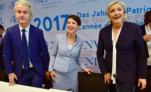 Marine Le Pen in Koblenz