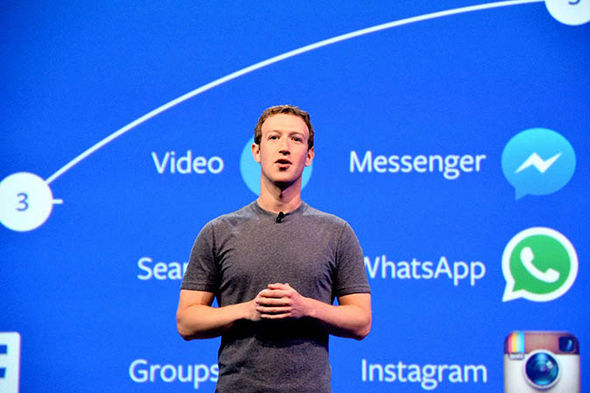 Mark Zuckerberg at a conference