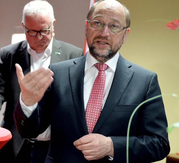 SPD's Martin Schulz