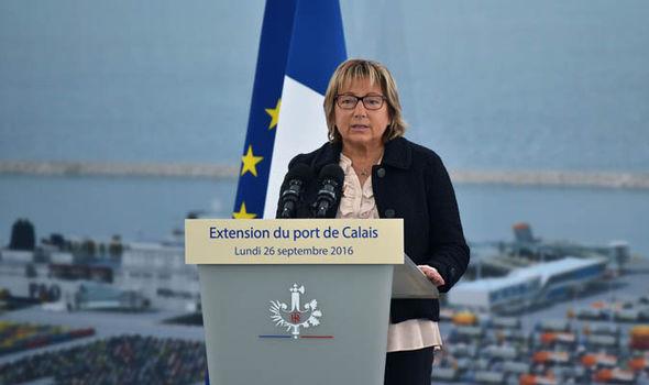 Mayor Calais Natacha Bouchart