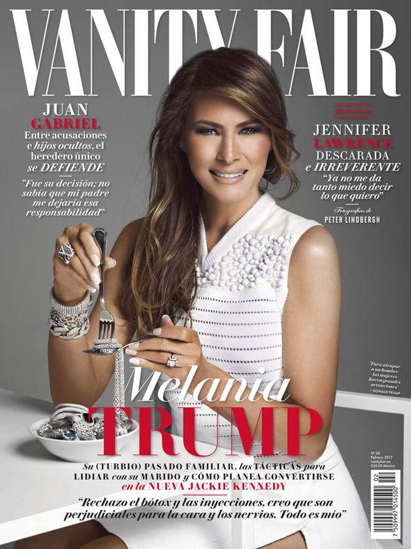 Melania Trump Vanity Fair