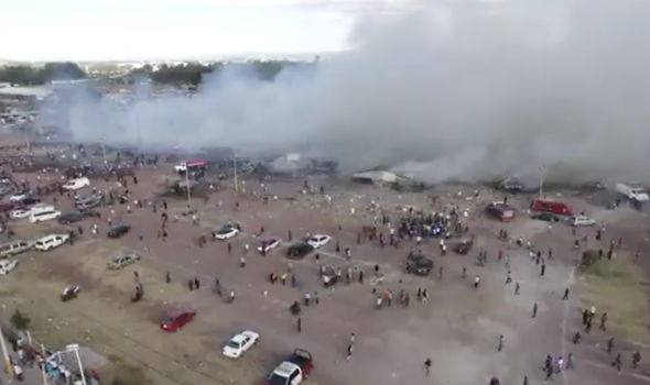 MEXICO EXPLOSION At least 31 killed and 60 injured in huge blast at fireworks market  World