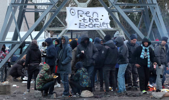 Migrants  France demands UK lets out homes to refugees from Calais | World | News Migrants 1197365