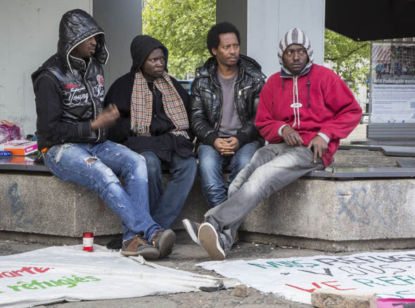 Migrants have been welcomed by Germany