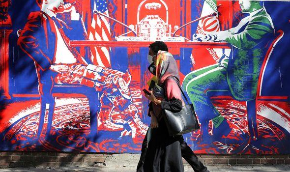 Tehran Mural
