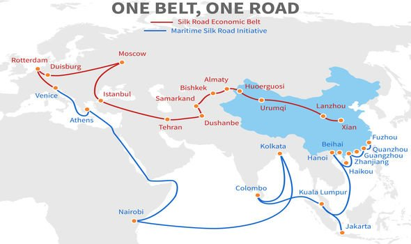 New Silk Road: China's plans span the old Silk Road route as well as new pathways