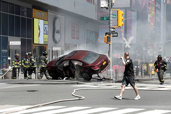 New York Times Square attack