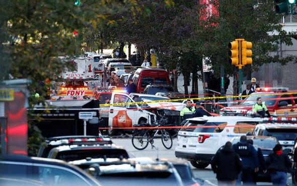 New York terror attack aftermath