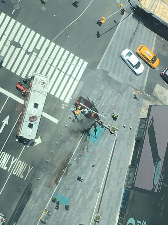 Car crashed into pedestrians in New York