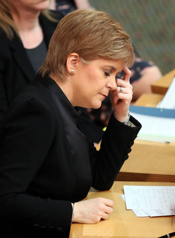 Nicola Sturgeon hopes the Scottish Parliament will pass a vote in favour of the referendum