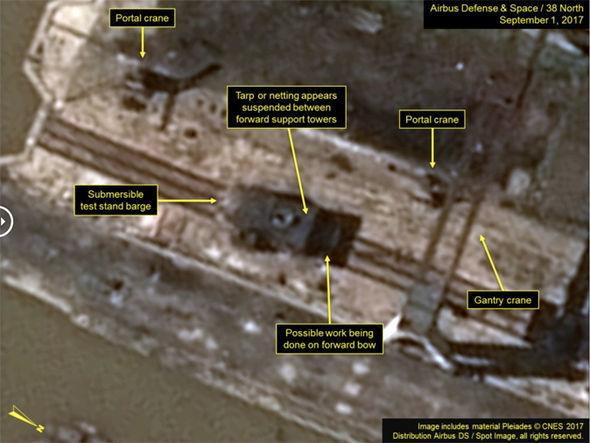 North Korea news: Satellite images of test site