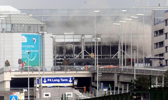 Airport explosion
