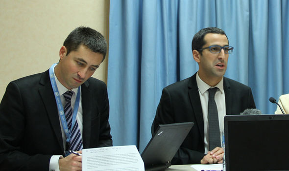 Philippe Dam (L) made the damning remarks in an article for EUobserver