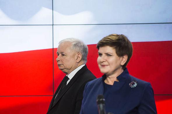 Poland v EU: Beata Szydlo and Jaroslaw Kaczynski