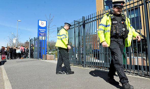 Police are investigating an incident at Bury College