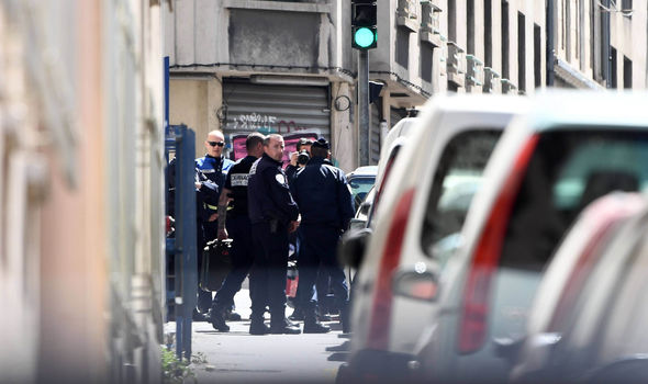 Policemen in Marseille