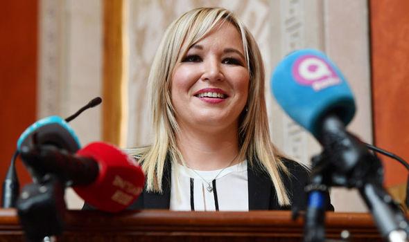 Sinn Fein Leader Michelle O'Neill