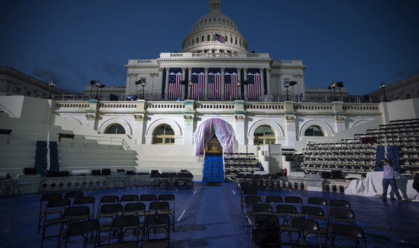Preparations are almost complete ahead of Trump's inauguration as President on Friday