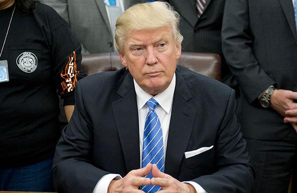President Trump previously branded Nato