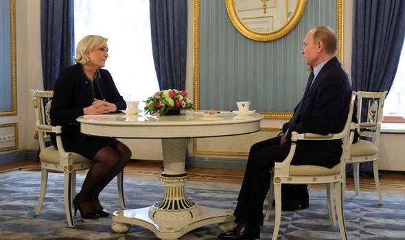 Marine Le Pen Putin