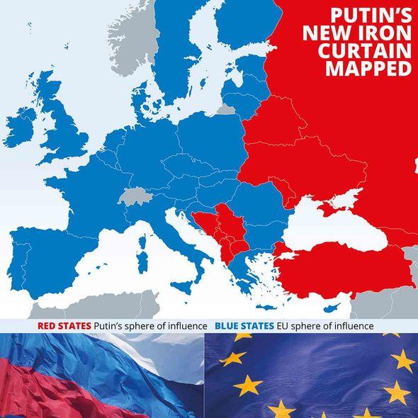 Putin's eye on Western Europe