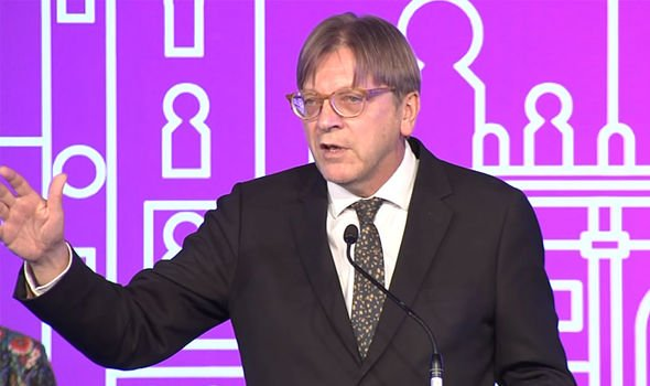 Russia: Verhofstadt said the EU would likely succumb to Russia's military forces
