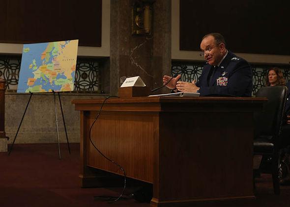 NATO general Phillip Mark Breedlove