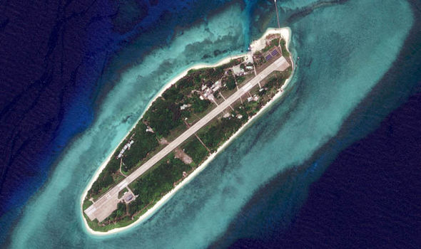 Itu Aba Island in the South China Sea
