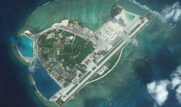Woody Island in the South China Sea