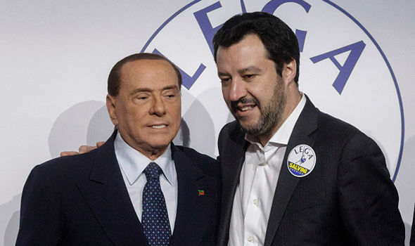 Salvini  EU disaster as Italy's populists set to JOIN FORCES | World | News Salvini 1272422