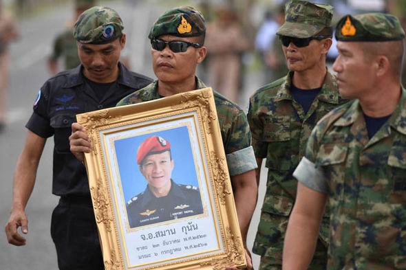 Samarn Poonan Thailand cave rescue latest updates