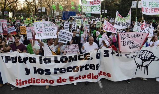 The people of Spain took to the streets over debt last week
