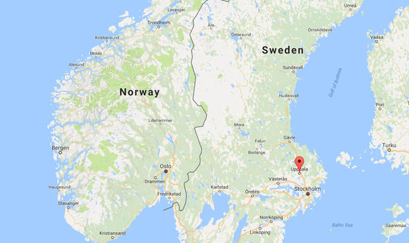 The rape is alleged to have taken place in the student city of Uppsala