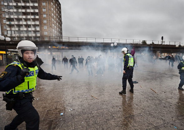 There has been riots on the streets of Sweden over migration issues