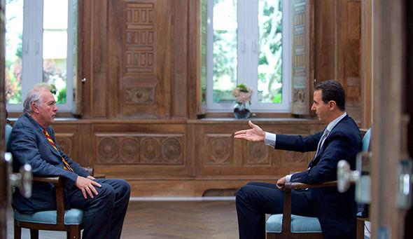 Assad interviewed by AFP