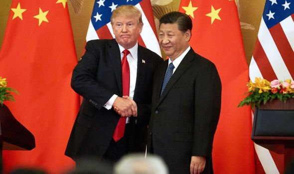 Tensions between US and China have ignited