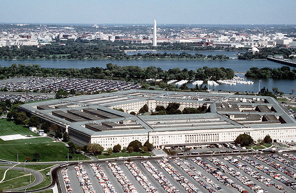 The US Pentagon is located within the state of Virgina