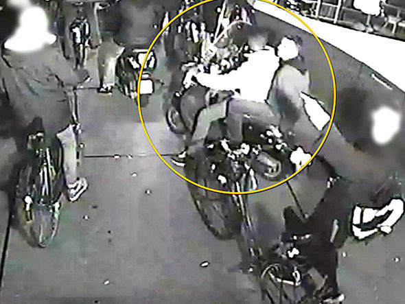 The three men attacked a gay couple in Amsterdam